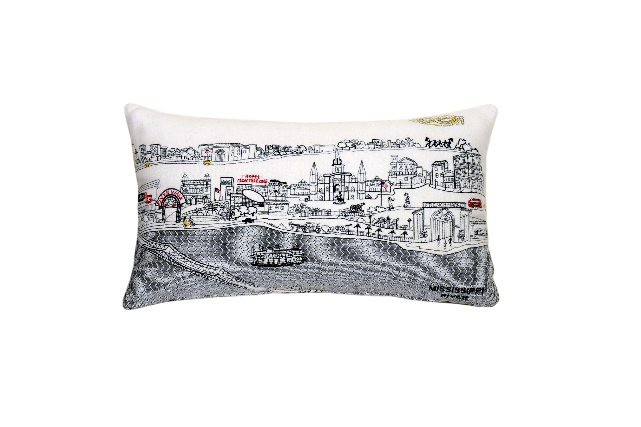 New Orleans Pillow Beyond Cushions