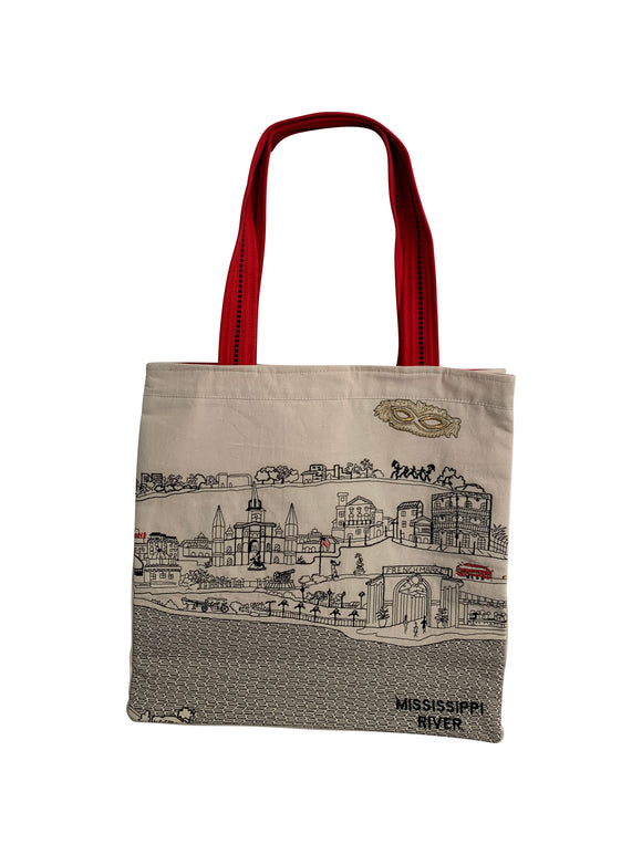 New Orleans Tote Bag - Beyond Cushions