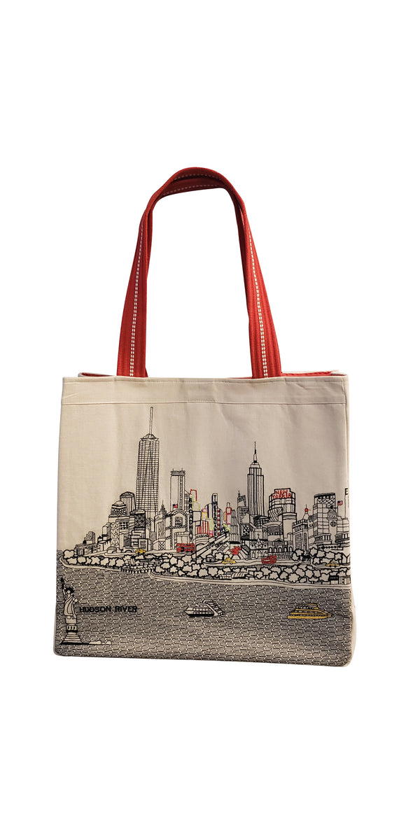 New York City Tote Bag - Beyond Cushions