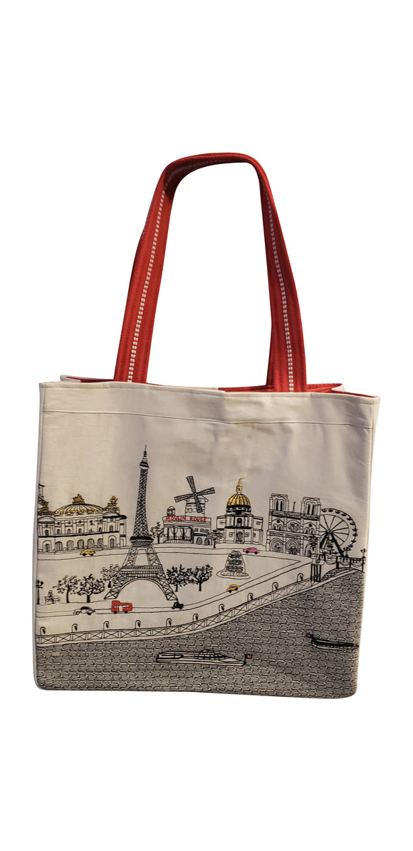 Paris Tote Bag - Beyond Cushions