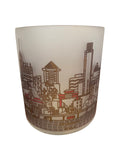 Philadelphia Skyline Glass Votive