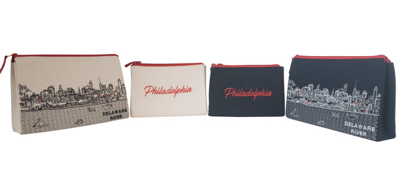 Philadelphia Makeup Bag - Beyond Cushions