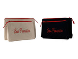 San Francisco Makeup Bag - Beyond Cushions