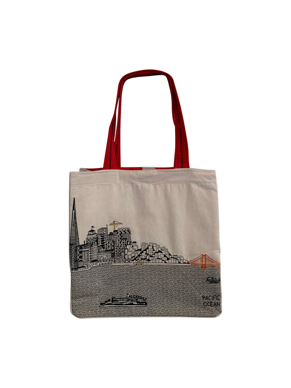 San Francisco Tote Bag - Beyond Cushions