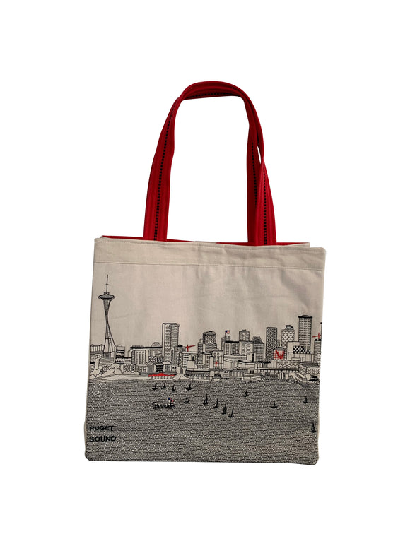Seattle Tote Bag - Beyond Cushions