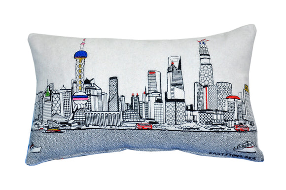 Shanghai Pillow - Beyond Cushions
