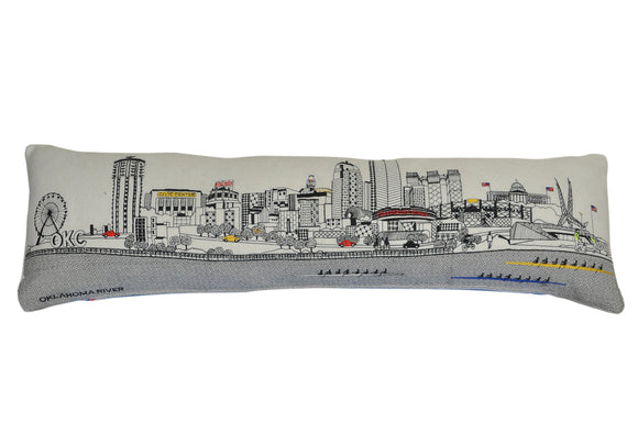 Oklahoma City Pillow - custom
