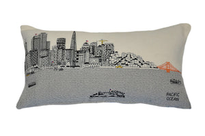 San Francisco Pillow - Beyond Cushions