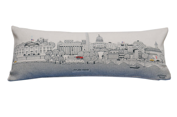 Washington DC Pillow - Beyond Cushions