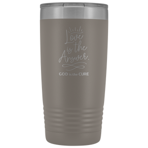 Love is the Answer 20oz Vacuum Tumbler