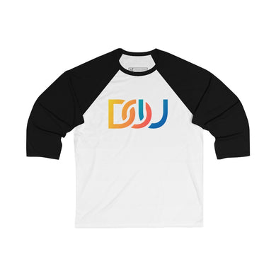 DOU Summer Nights / White & Black Baseball Tee