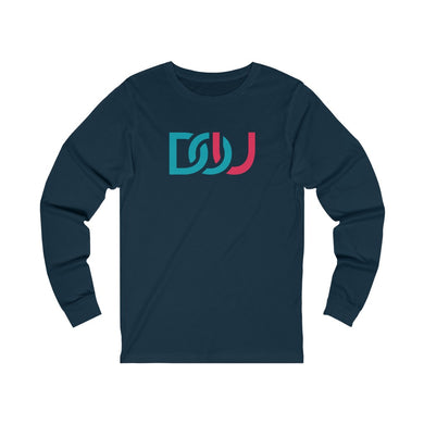 DOU Blue & Pink / Navy Long Sleeve