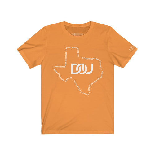 DOU Texas T-shirt - Short Sleeve - Burnt Orange