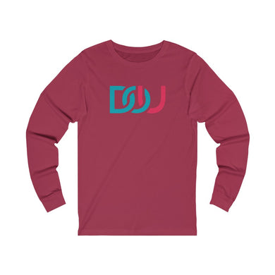 DOU Blue & Pink / Red Long Sleeve