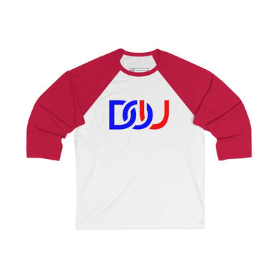 DOU D.C. / White & Red Baseball Tee