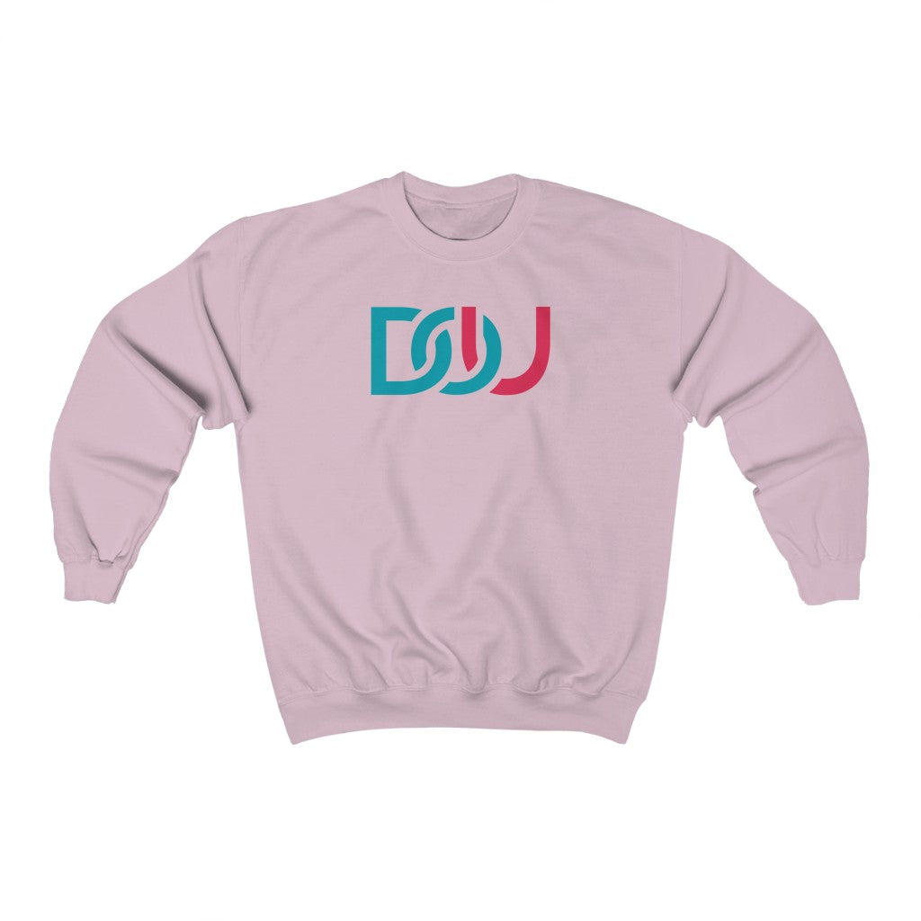 DOU Blue & Pink / Light Pink Sweatshirt
