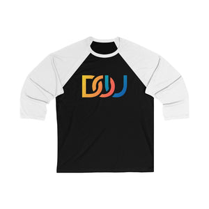 DOU Summer Nights / Black & White Baseball Tee