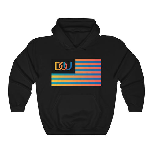 DOU Summer Nights Flag Series / Black Hoody