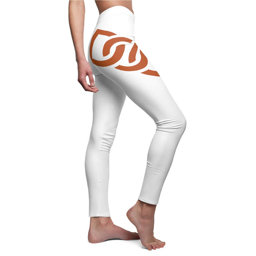 Women's Burnt Orange D.O.U. Leggings