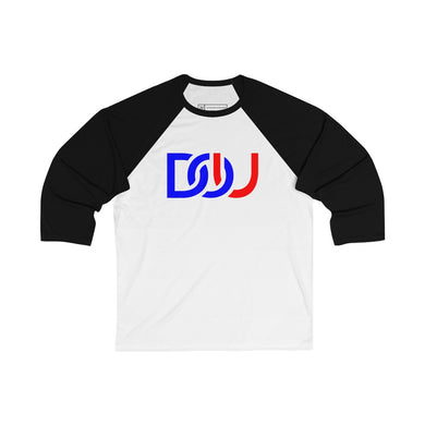 DOU D.C. / White & Black Baseball Tee
