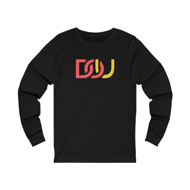 DOU Red & Yellow / Black Long Sleeve