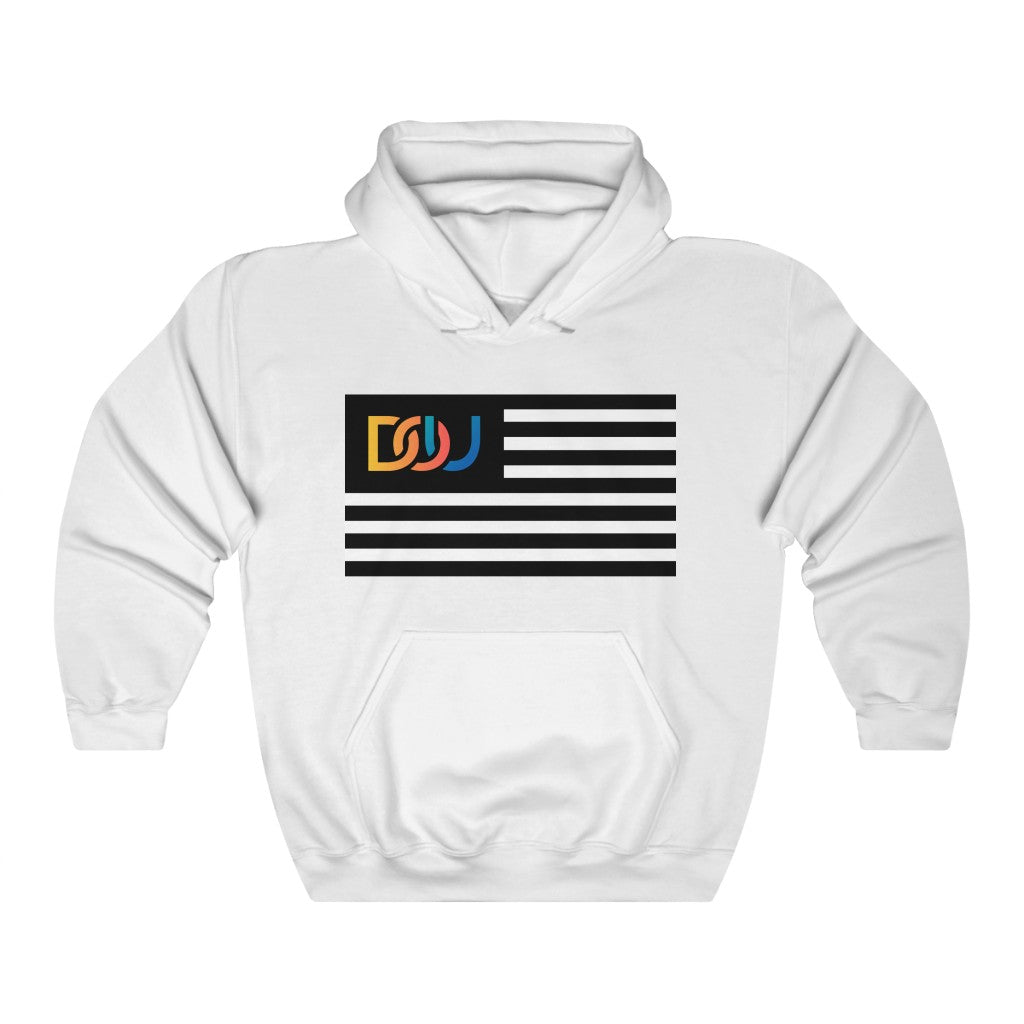 DOU Summer Nights Classic Flag Series / White Hoody