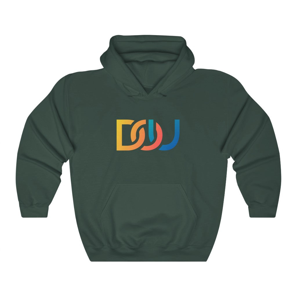 DOU Summer Nights / Forest Green Hoody