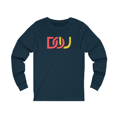 DOU Red & Yellow / Navy Long Sleeve