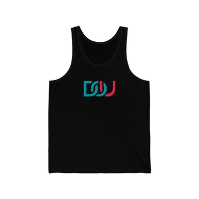 DOU Blue & Pink / Black Tank