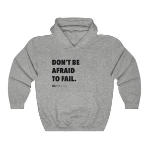 "DOU ""Don't Be Afraid to Fail"" Hoody"