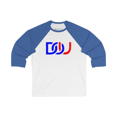 DOU D.C. / White & True Royal Baseball Tee