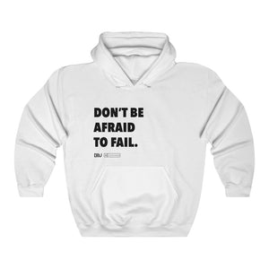 "DOU ""Don't Be Afraid to Fail"" / White Hoody"