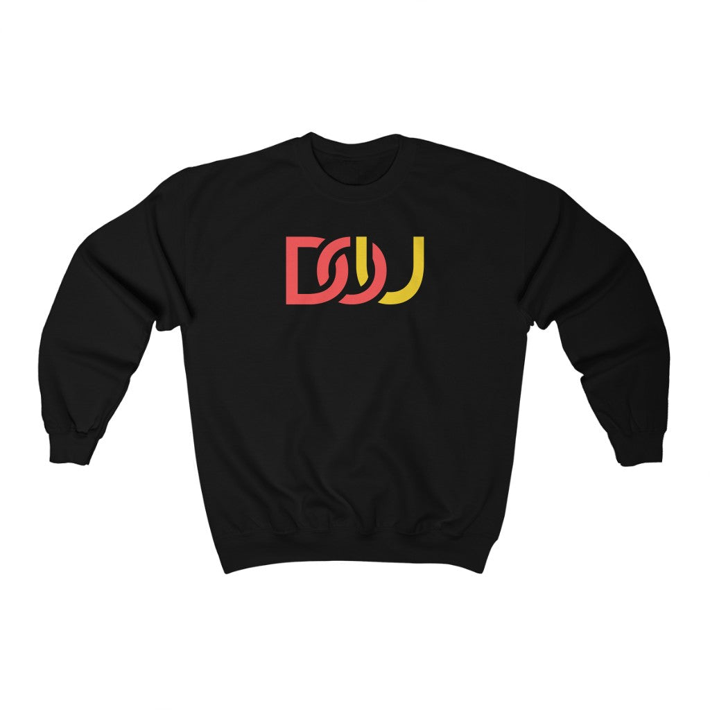 DOU Red & Yellow / Black Sweatshirt