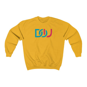 DOU Blue & Pink / Gold Sweatshirt