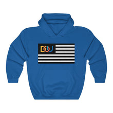 Load image into Gallery viewer, DOU Summer Nights Classic Flag Series / Royal Hoody