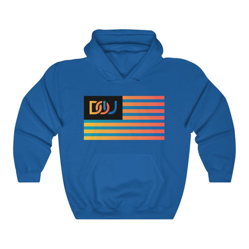 DOU Summer Nights Flag Series / Royal Hoody