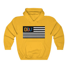 Load image into Gallery viewer, DOU Summer Nights Classic Flag Series / Gold Hoody