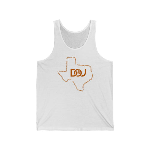 DOU Texas Tank - White