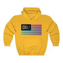 Load image into Gallery viewer, DOU Summer Nights Flag Series / Gold Hoody