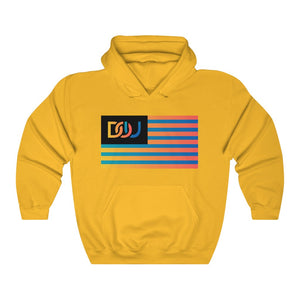 DOU Summer Nights Flag Series / Gold Hoody