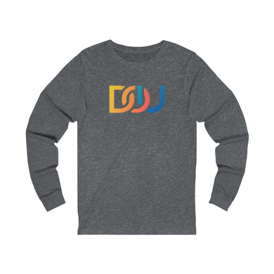 DOU Summer Nights / Dark Grey Heather Long Sleeve