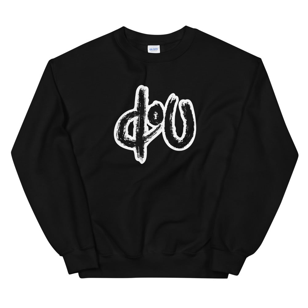 doU Classic Logo Sweatshirt - Nino Brown Series (Black)
