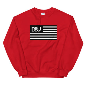 DOU Classic Flag Series Sweatshirt / Red