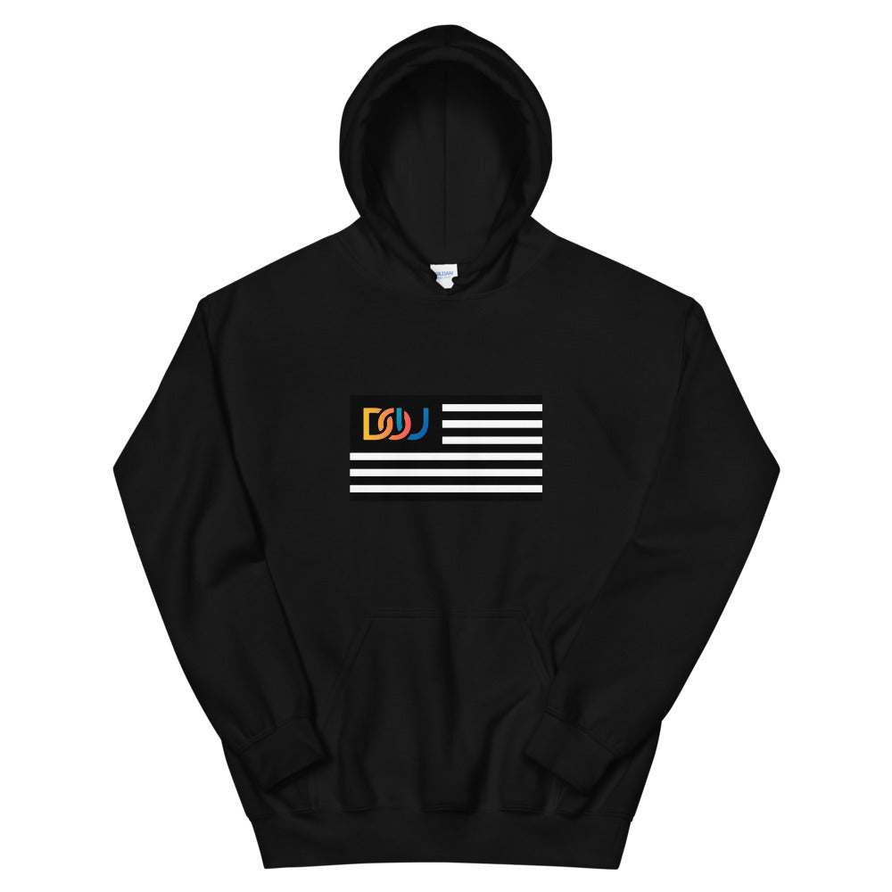 DOU Summer Nights Classic Flag Series / Black Hoody