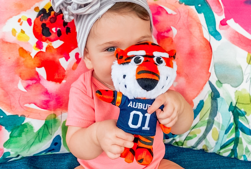 Plush Animal Pacifiers: Meet Our Animal Mascots