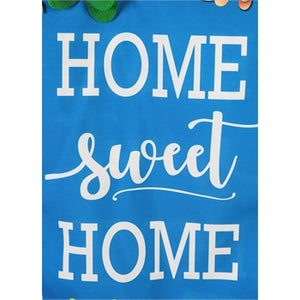Home Sweet Home Succulents Everlasting Impressions Flag