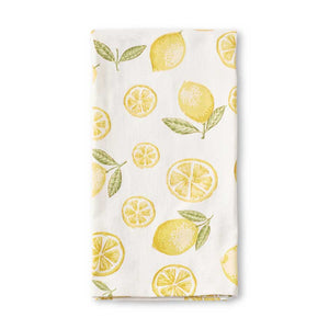 Cotton Lemon Kitchen Towel