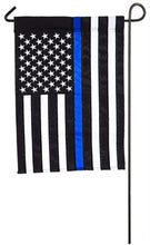 Load image into Gallery viewer, Thin Blue Line Applique Flag - 2 sizes
