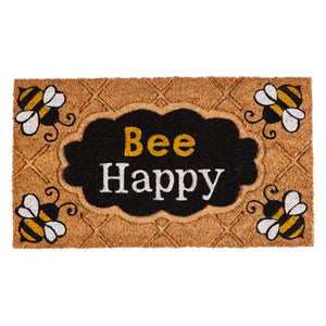 Bee Happy Coir Mat