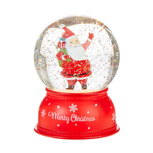 Santa Lighted Water Globe